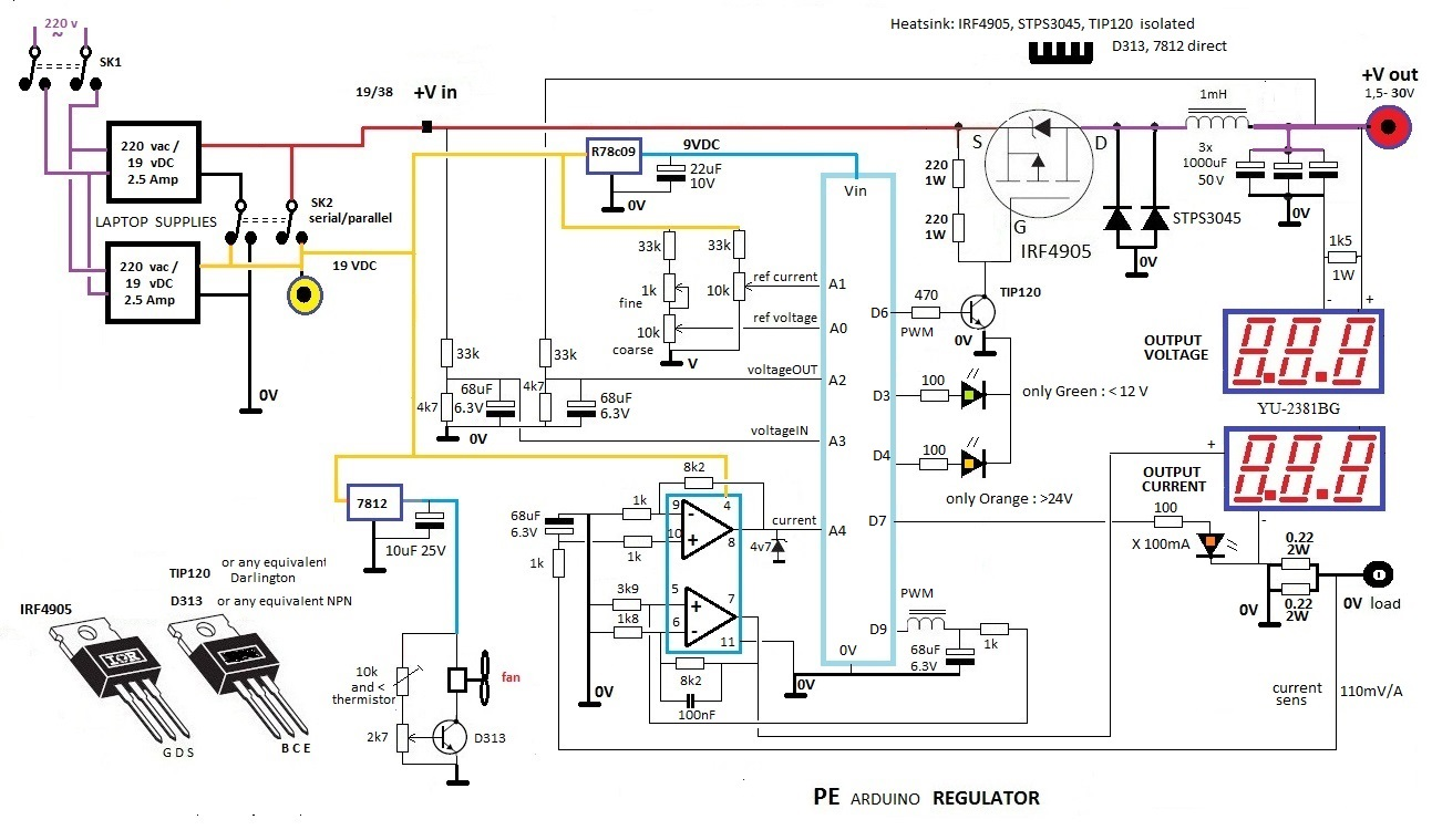 Arduino Switched Power Supply 38v Wiring Diagram